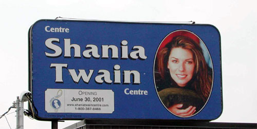 Shania Billboard 1